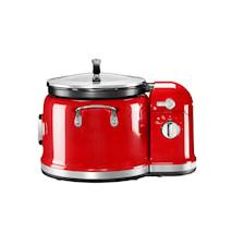 Multi-cooker med rörtorn röd 3,95 L