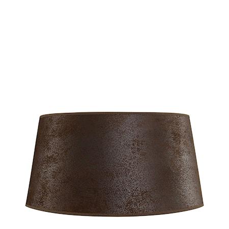 Artwood Lampskärm L Low Suede Brown