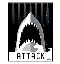 Attack Poster 50x70cm