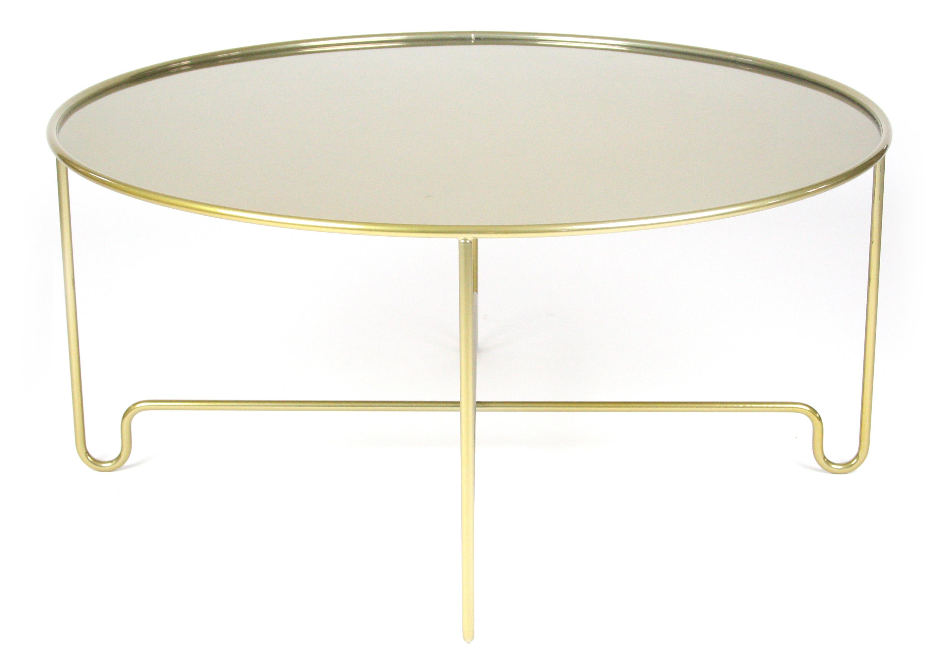 Coco moon soffbord - 110 cm, Champagne