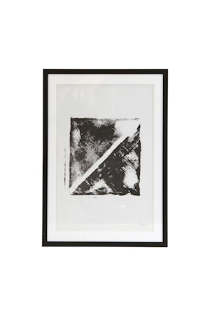 Tavla 30,5x21,8 cm - Svart