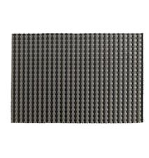 Tablett Svart/Silver 40x30 cm