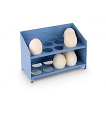 Ägghylla Blå