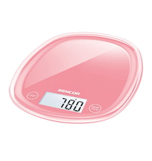 Köksvåg Pastell Röd 5 kg
