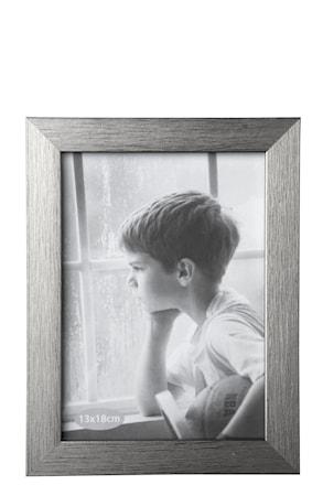 Bild av KJ Collection Tavelram Silver Slät 18x13 cm