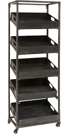 Metal tray hylde