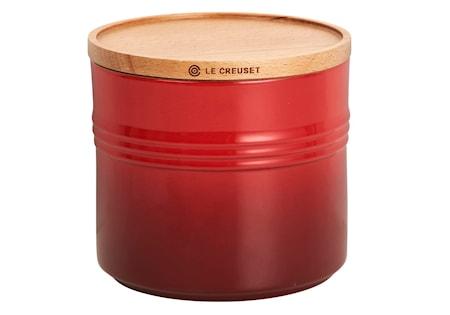 Le Creuset Förvaringsburk 1,5 L/14 cm Cerise