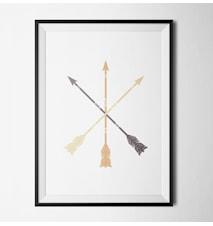 Arrows light poster