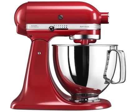 Artisan 125 Kjøkkenmaskin 4,8 liter Rød