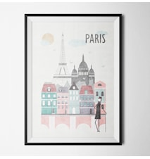 Think of paris poster