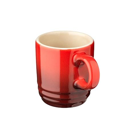 Le Creuset Espressokopp 70 ml Cerise
