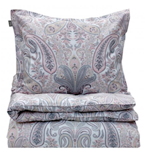 Key West Paisley Påslakan Enkel 150x210 Light Pink