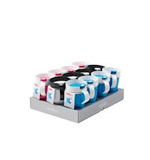 Termomugg Osorterad färg 12-pack 250ml