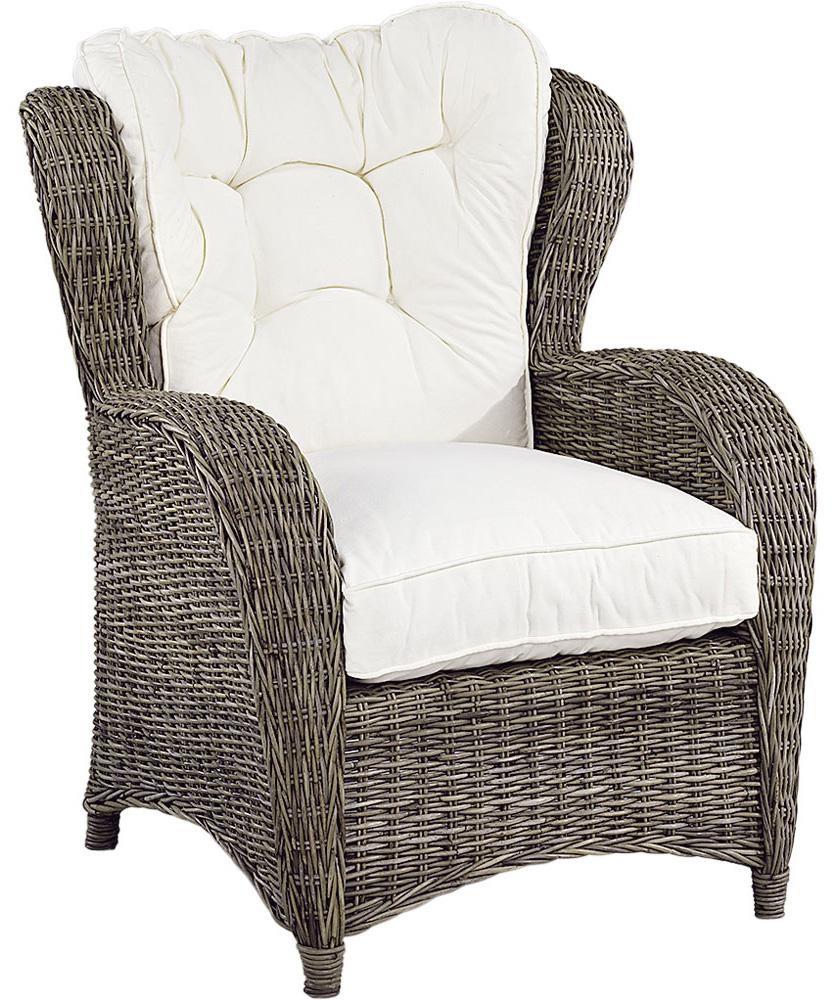 Jacksonville Wingchair inkl. dyna - Kubu Grey