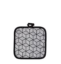 Grytlapp Polyester/Bomull Vit 20x20 cm