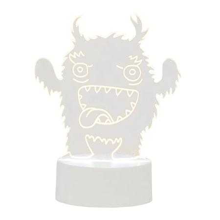 Bild av Bloomingville Monster Bordslampa Klar Plast 10x20x15cm