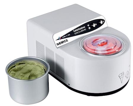 Nemox Gelatissimo Exclusive Jäätelökone 1,7L Valkoinen