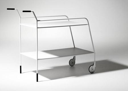 SMD Design - Rullvagn - Karla - Vit