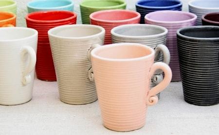 Algarve Kaffemugg med öra Rosa 10 cm