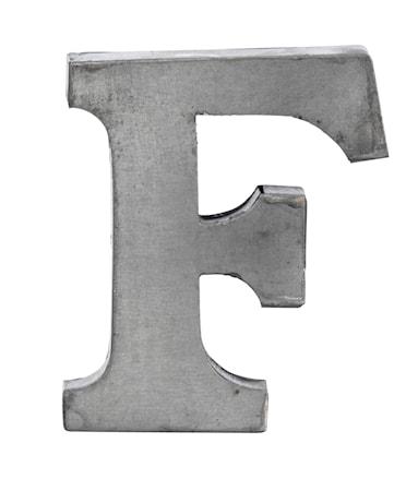 Madam Stoltz Kirjain F 5,5 cm – Sinkki