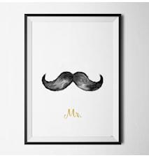 Mr & Mrs him poster