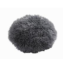 Sheila Round Pude Ø40 cm - Grey/Black