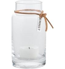 Vas/lykt glass d5 h12 cm