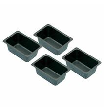 Form Mini 4-pack Non Stick 7x3 cm