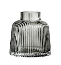 Vas Grey Glass Ø9x9 cm