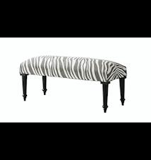 Zebra Bänk 40x100 Titanium