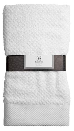 Galzone Pyyhe 100% Puuvilla Valkoinen 100×50 cm