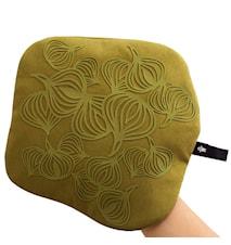 Non-Slip Grytlapp/ med ficka Silikon Olivgrön 22 cm