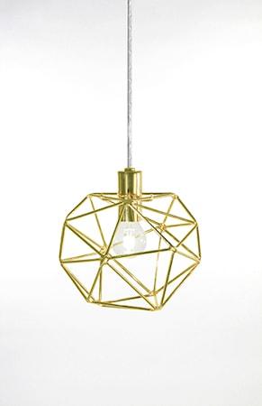 Bild av Globen Lighting Pendel Mini Diamond Mässing