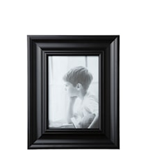 Tavelram Glas/Svart 18x13 cm