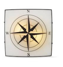 Compass Flush Ceiling Light