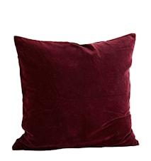 Kuddfodral 60x60 cm - Bordeaux