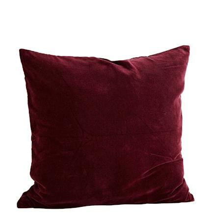 Madam Stoltz Tyynynpäällinen 60×60 cm – Bordeaux