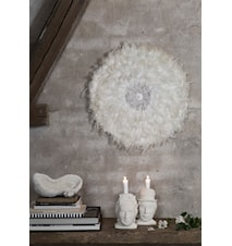 Feathers wall deco - Vit