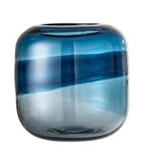 Vas Blue Glass 16x16,5 cm