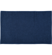 Baderomsmatte Terry Sigrid 50x80 cm - Mørkeblå