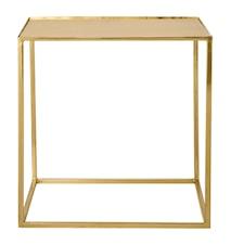 Sidebord Gull Metall 45x45x45 cm