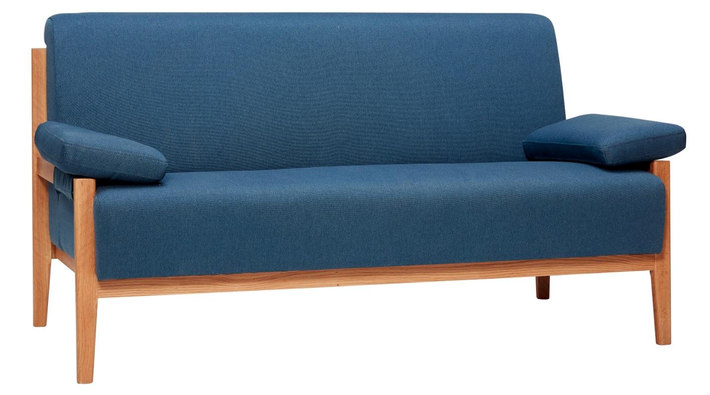 Oak legs 2-sits soffa