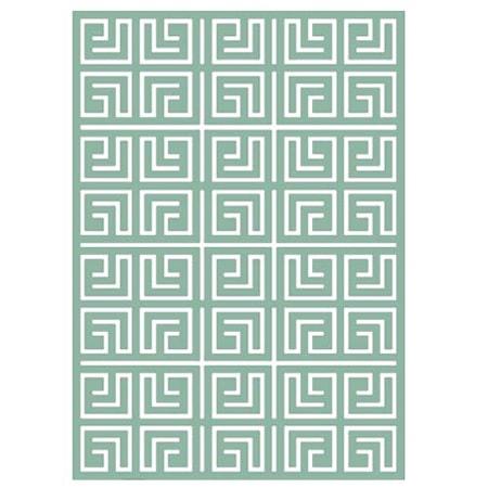 Labyrinth greyed jade matta