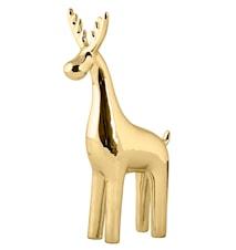 Figur Ren Keramik Guld 23 cm