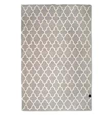 Trellis matta grå/vit