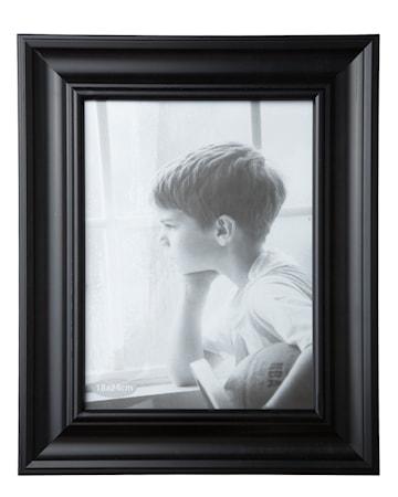 Tavelram Svart/Glas 24x18 cm
