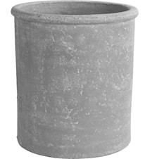 Kruka d28,5 h30,5 cm ljusgrå