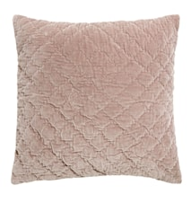 Kuddfodral Quilted 50x50 cm - Rosa