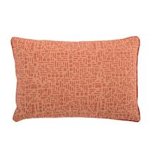 Kudde Pattern 60x40 cm Orange