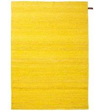 Silk handvävd matta – Gul